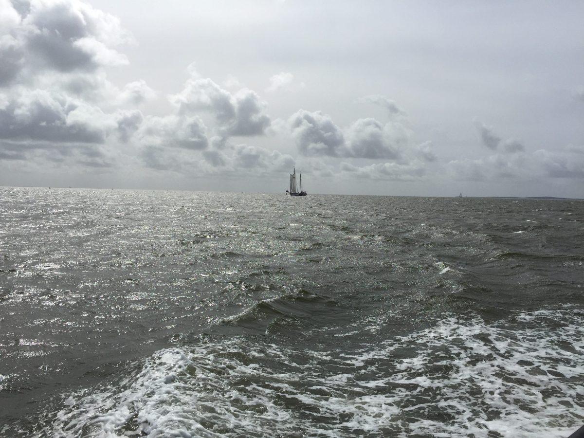 Sailingboat at Tershelling (c) Photograph: Steffen Bürger April 2017