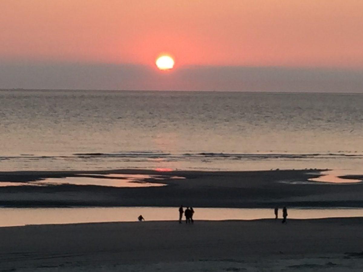 Sunset Ameland (c) Photo: Steffen Buerger