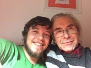 Aaron und Papa Foto: (c) Steffen Bürger 21.03.2017