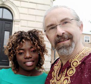 Sarah und Steffen auf der Hochzeit von Kate Mönchengladbach 05.07.2019 (bearb.) Photo (c) Steffen Bürger